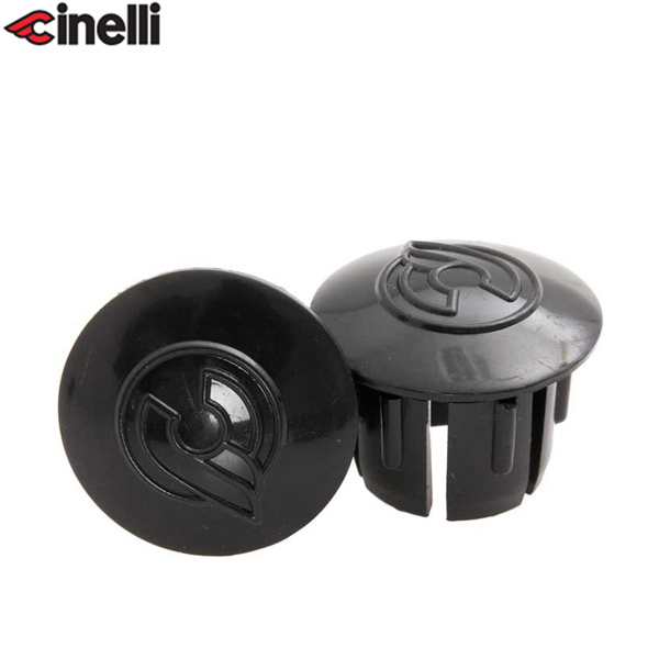 Cinelli(チネリ)BAR END PLUGS(バーエンドプラグ)(ブラック)