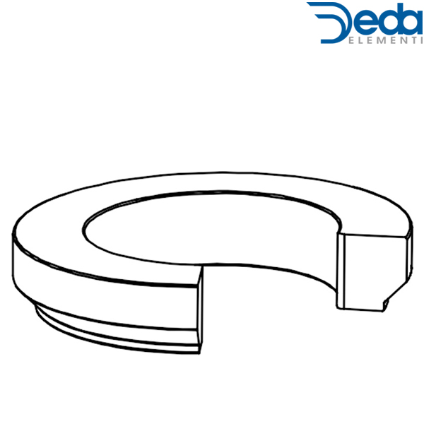 Deda ELEMENTI(デダ エレメンティ)ACR System Nylon Compression Ring(ナイロン コンプレッションリング)(36°/45°)