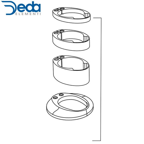 Deda ELEMENTI(デダ エレメンティ)VINCI(ヴィンチ)Headset Nylon Spacers Kit(ヘッドセット ナイロンスペーサーキット)
