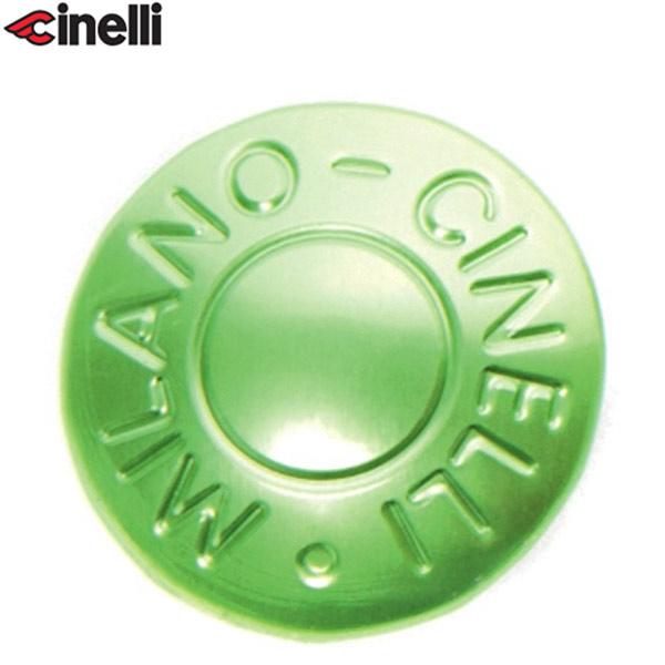 Cinelli(チネリ)BAR END ANODIZED PLUGS(バーエンド アノダイズドプラグ)(グリーン)