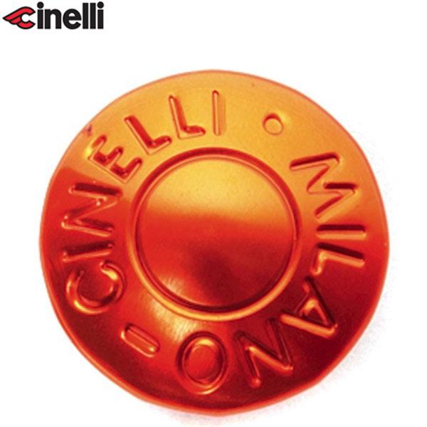 Cinelli(チネリ)BAR END ANODIZED PLUGS(バーエンド アノダイズドプラグ)(オレンジ)