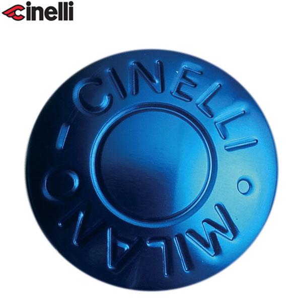 Cinelli(チネリ)BAR END ANODIZED PLUGS(バーエンド アノダイズドプラグ)(ブルー)