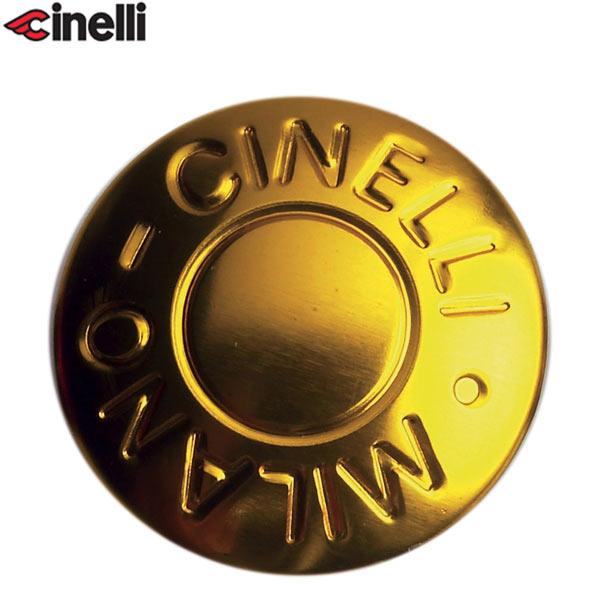 Cinelli(チネリ)BAR END ANODIZED PLUGS(バーエンド アノダイズドプラグ)(ゴールド)