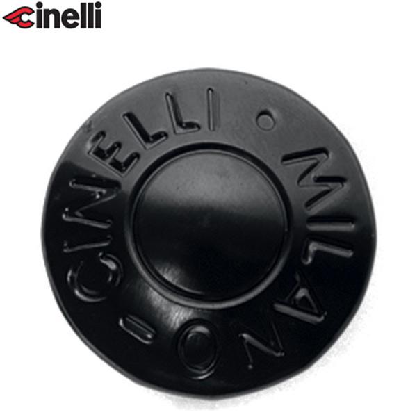 Cinelli(チネリ)BAR END ANODIZED PLUGS(バーエンド アノダイズドプラグ)(ブラック)