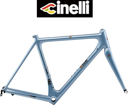 Cinelli(チネリ)LASER MIA(レーザー ミーア)カーボンフレームセット(Azzurro Laser(アズーロレーザー)ブルー)
