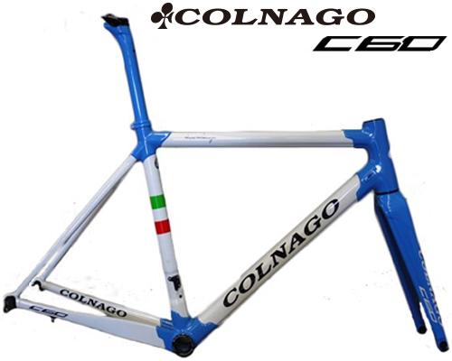 COLNAGO(コルナゴ)C60 カーボンフレームセット(PLG6 / ホワイト / ブルー)