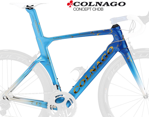 COLNAGO(コルナゴ)CONCEPT(コンセプト)ART DECOR カーボンフレームセット(CHDB / ブルー)