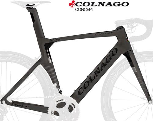 COLNAGO(コルナゴ)CONCEPT(コンセプト)カーボンフレームセット(CHBK / マットブラック)
