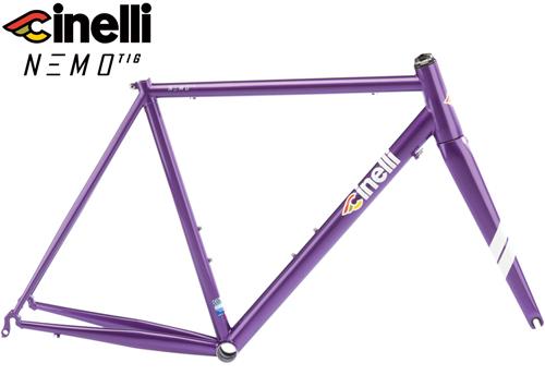 Cinelli(チネリ)NEMO TIG(ネモ ティグ)フレームセット(Purple Haze(パープル))