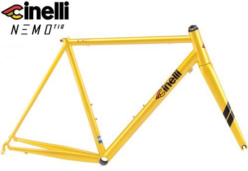Cinelli(チネリ)NEMO TIG(ネモ ティグ)フレームセット(Yellow Moon(イエロームーン))