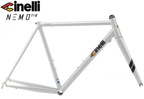 Cinelli(チネリ)NEMO TIG(ネモ ティグ)フレームセット(Silver Bullet(シルバービュレット))