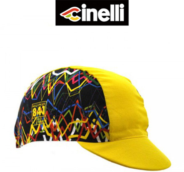 Cinelli(チネリ)レーサーキャップ(KRYPTONITE(クリプトナイト) / イエロー)