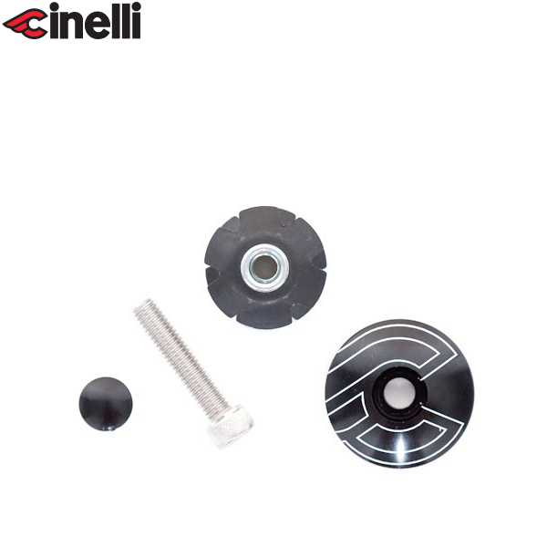 Cinelli(チネリ)トップキャップ(ブラック)
