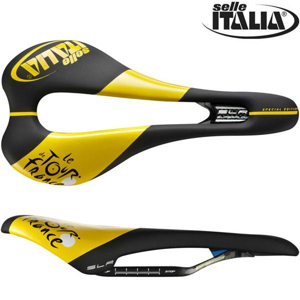 selle ITALIA(セライタリア)SLR KIT CARBONIO SUPERFLOW(エスエルアール キットカーボニオ スーパーフロー)サドル(ツールドフランス限定)