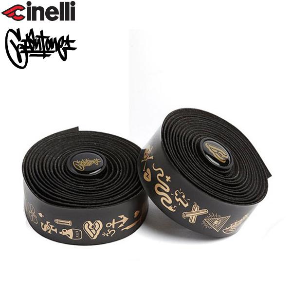 Cinelli(チネリ)MIKE GIANT(マイクジャイアント)GOLD VOLEE RIBBON(ゴールド ボレーリボン)バーテープ