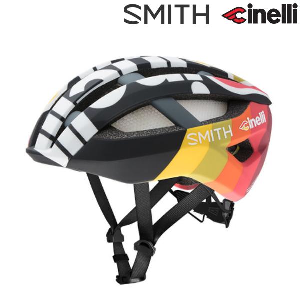 Cinelli(チネリ)TEAM Cinelli(チームチネリ)×SMITH(スミス)NETWORK MIPS ヘルメット(2018)