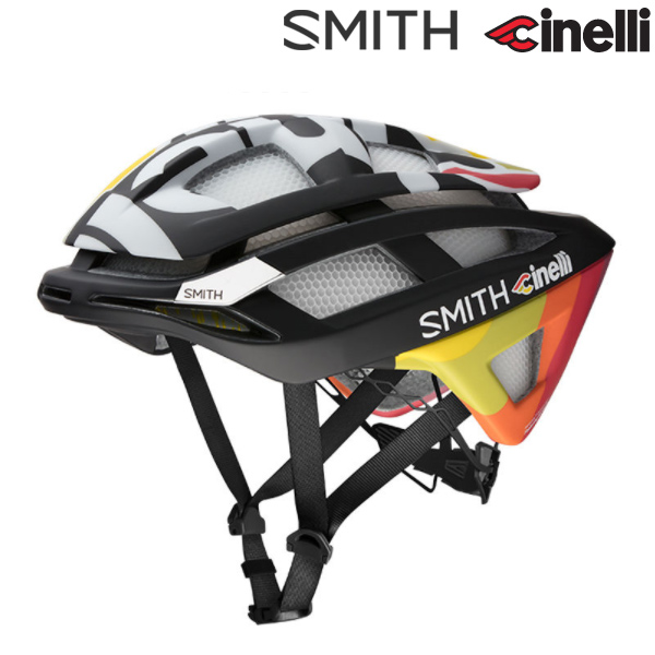 Cinelli(チネリ)TEAM Cinelli(チームチネリ)×SMITH OVERTAKE MIPS ヘルメット(2018)