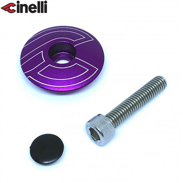 Cinelli(チネリ)トップキャップ(パープル)