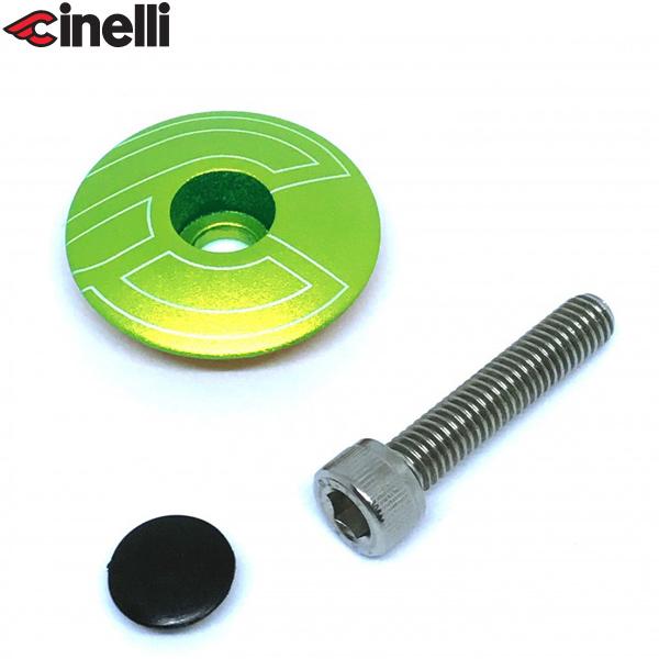 Cinelli(チネリ)トップキャップ(グリーン)