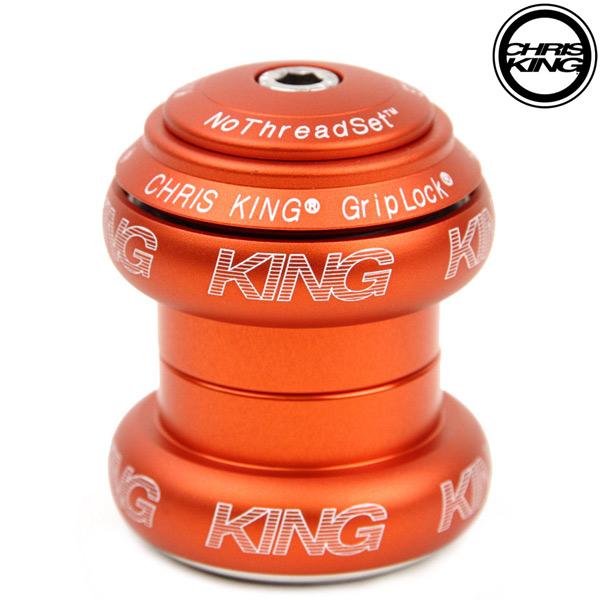 CHRIS KING(クリスキング)NOTHREADSET(ノースレッドセット)(1-1/8″ / MATTE ORANGE(マットオレンジ))