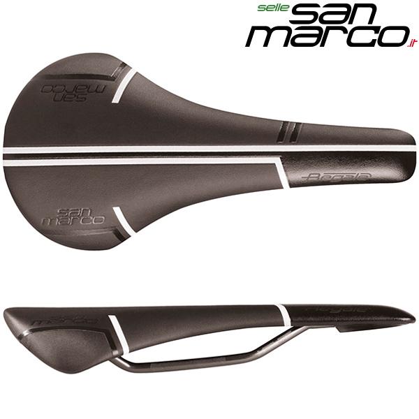 Selle SAN MARCO(セラサンマルコ) REGALE RACING(リーガルレーシング)サドル(ブラック / ホワイト)