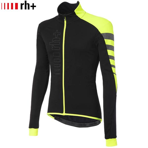 rh+(アールエイチプラス)CODE WIND ジャケット(ブラック / フルオイエロー / リフレックス)