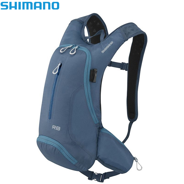 SHIMANO(シマノ)ROKKO(ロッコー)8 バックパック(ブルー)