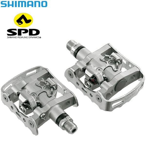SHIMANO(シマノ)DEORE(デオーレ)SPDペダル(PD-M324 / シルバー)
