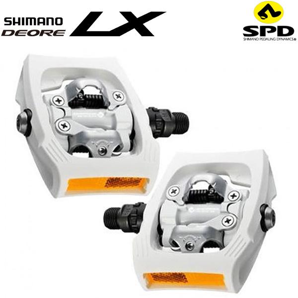 SHIMANO(シマノ)DEORE(デオーレ)LX SPDペダル(PD-T400 / ホワイト)