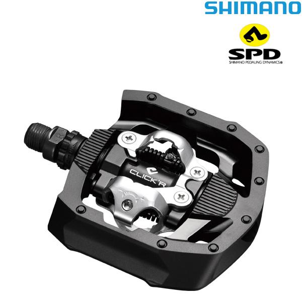 SHIMANO(シマノ)CLICK'R SPDペダル(PD-MT50 / ブラック)