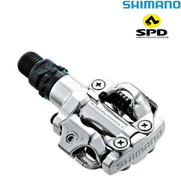 SHIMANO(シマノ)DEORE(デオーレ)SPDペダル(PD-M520 / シルバー)