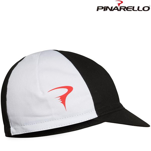PINARELLO(ピナレロ)TEAM キャップ(ブラック / ホワイト)