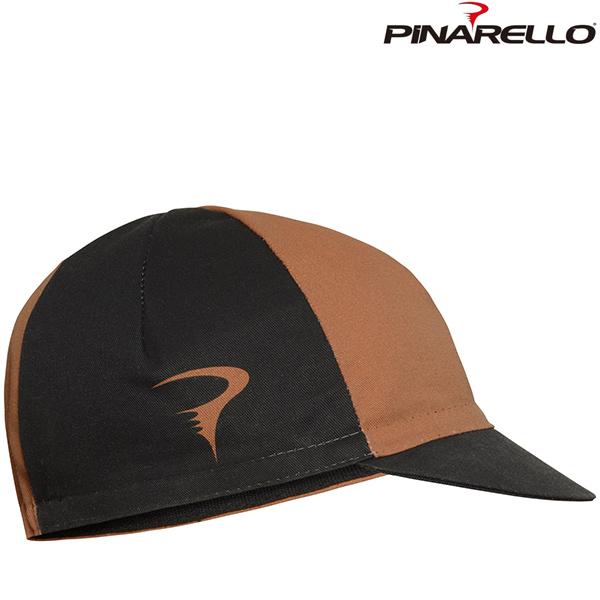 PINARELLO(ピナレロ)TEAM キャップ(ブラック / ブラウン)