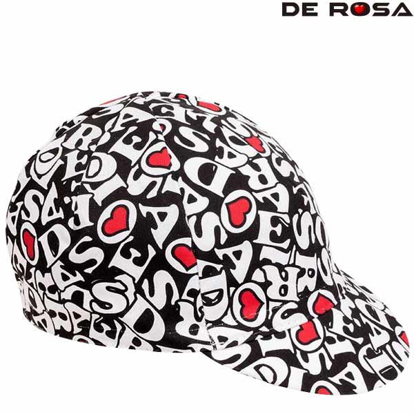 DE ROSA(デローザ)469 FULL REVO(フル レボ)キャップ(ブラック)