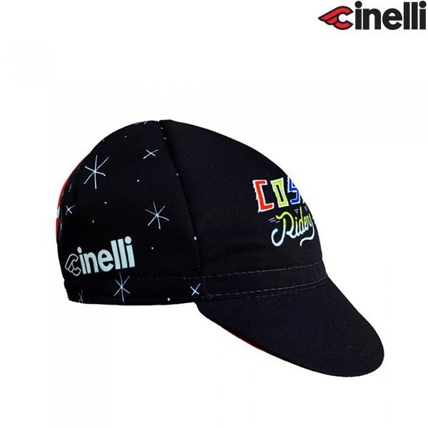Cinelli(チネリ)COSMIC RIDERS(コスミック ライダーズ)キャップ(ブラック)