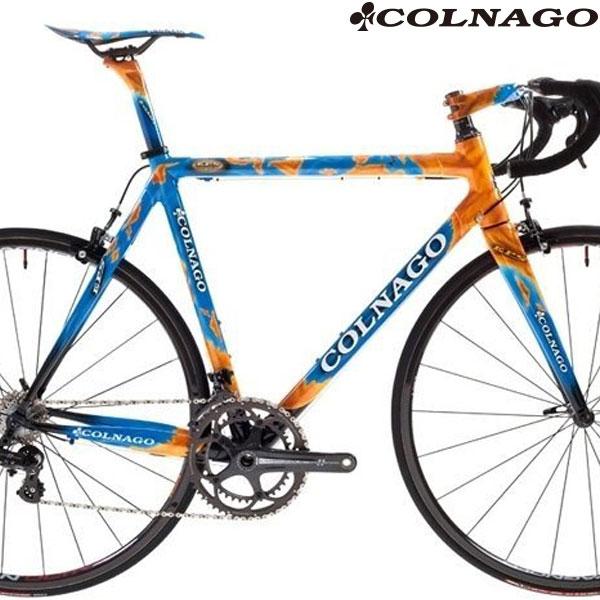 COLNAGO(コルナゴ)EPS カーボンフレームセット(GEO / オレンジ / ブルー / 限定カスタムペイント)