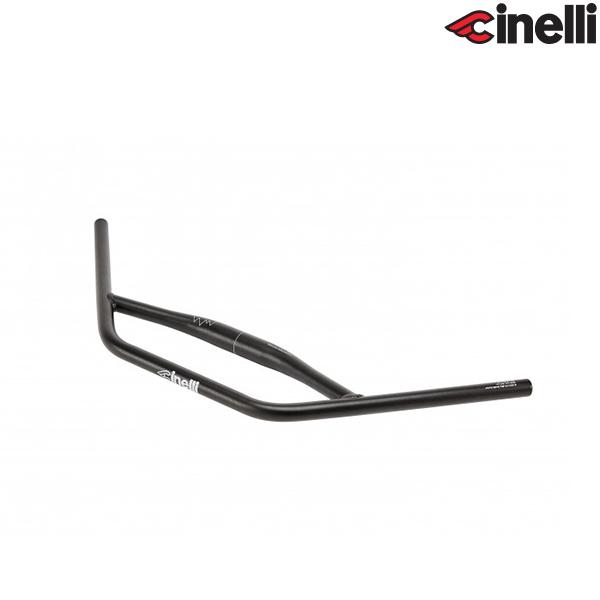 Cinelli(チネリ)DOUBLE TROUBLE(ダブル トラブル)ブルホーン ハンドルバー(ブラック / 660mm)