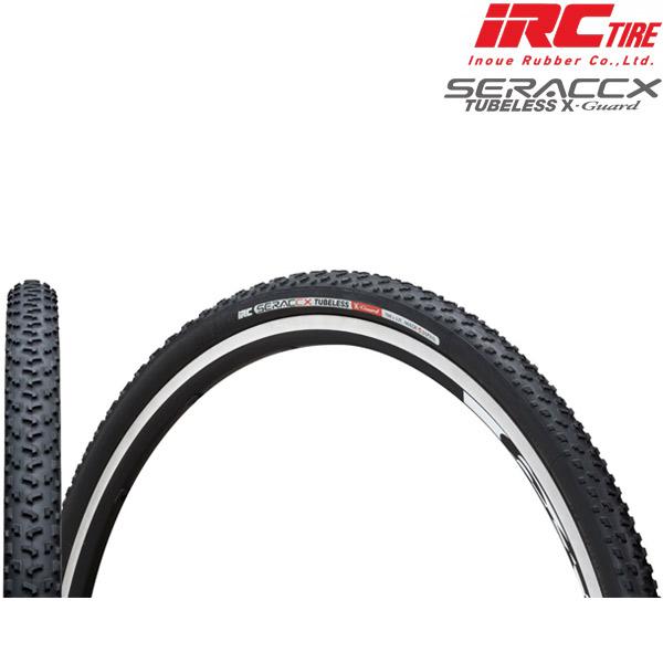 IRC(アイアールシー)SERAC(シラク)CX TUBELESS(チューブレス)X-GUARD(エックスガード)タイヤ