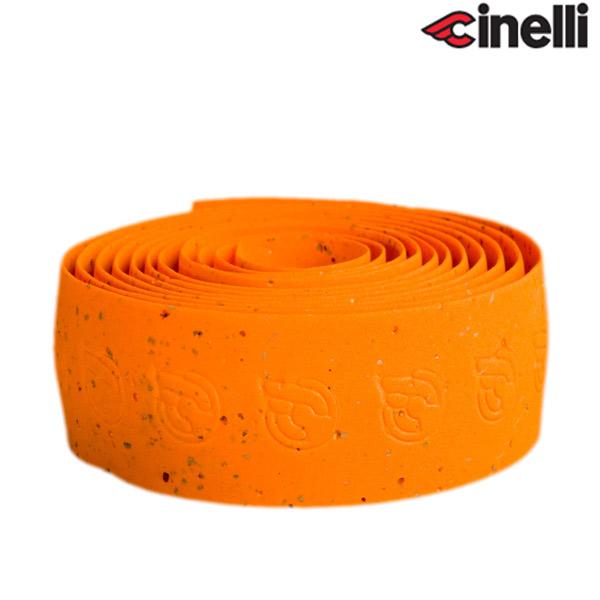 Cinelli(チネリ)CORK RIBBON(コルクリボン)バーテープ(オレンジ)