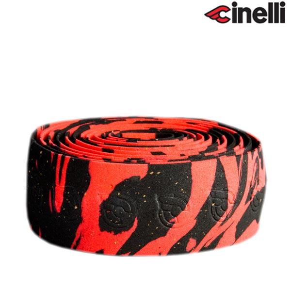 Cinelli(チネリ)MACRO SPLASH(マクロスプラッシュ)バーテープ(レッド / ブラック)