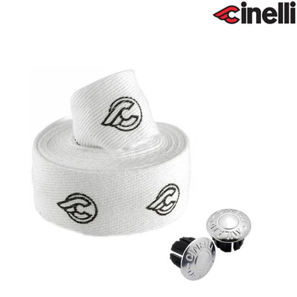 Cinelli(チネリ)COTTON GEL RIBBON(コットンジェルリボン)バーテープ(ホワイト)