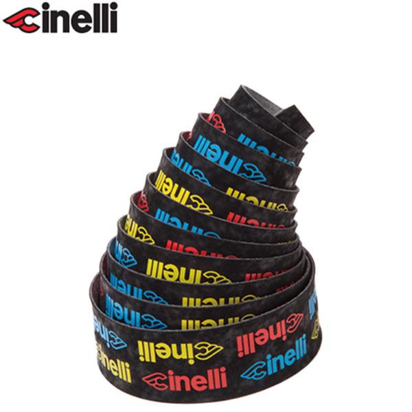 Cinelli(チネリ)LOGO VELVET RIBBON(ロゴ ベルベット リボン)バーテープ(マルチカラー)