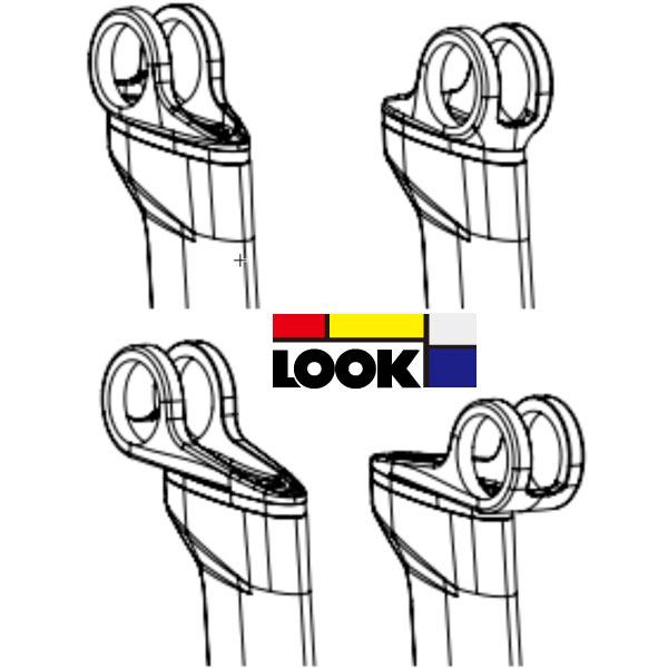 LOOK(ルック)AERO POST(エアロポスト)2 LONG HEAD KIT(ロングヘッドキット)