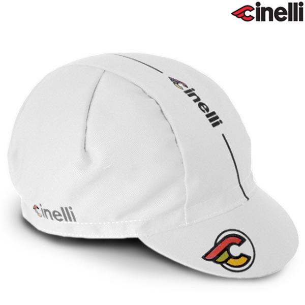 Cinelli(チネリ)SUPER CORSA(スーパーコルサ)キャップ(ホワイト)
