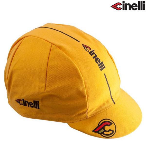 Cinelli(チネリ)SUPER CORSA(スーパーコルサ)キャップ(イエロー)