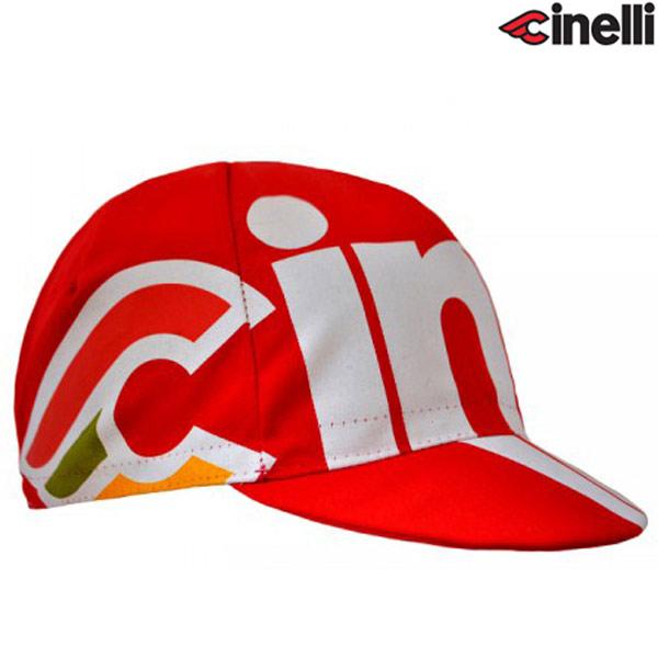 Cinelli(チネリ)NEMO TIG(ネモ ティグ)キャップ(レッド)