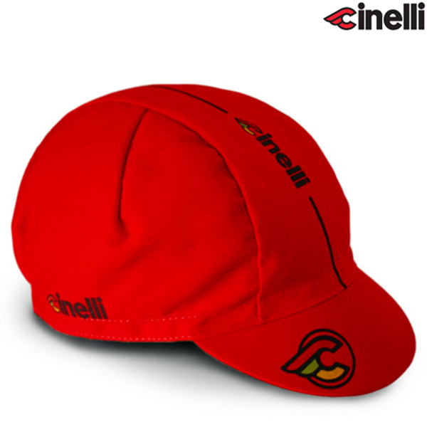 Cinelli(チネリ)SUPER CORSA(スーパーコルサ)キャップ(レッド)