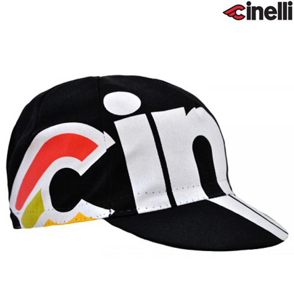 Cinelli(チネリ)NEMO TIG(ネモ ティグ)キャップ(ブラック)