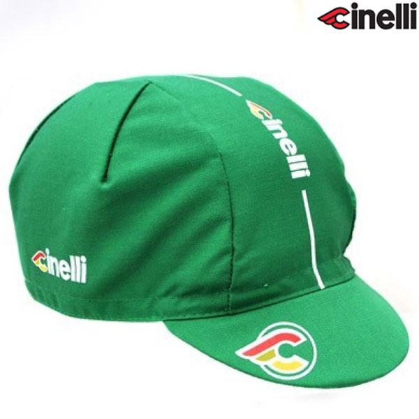 Cinelli(チネリ)SUPER CORSA(スーパーコルサ)キャップ(グリーン)