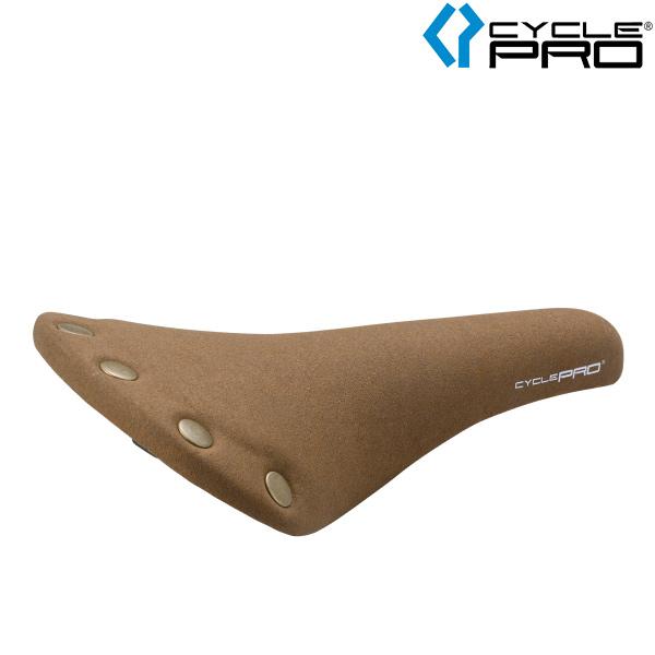 CYCLE PRO(サイクルプロ)クラシックデザイン スウェードサドル(CP-SD1221SU/ブラウン)